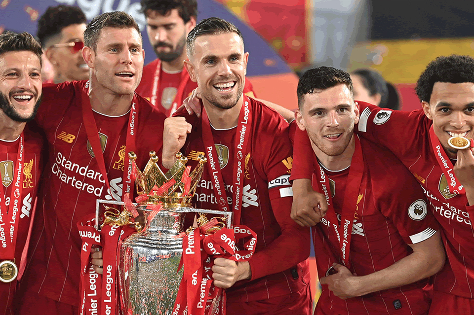 liverpool champion premier league